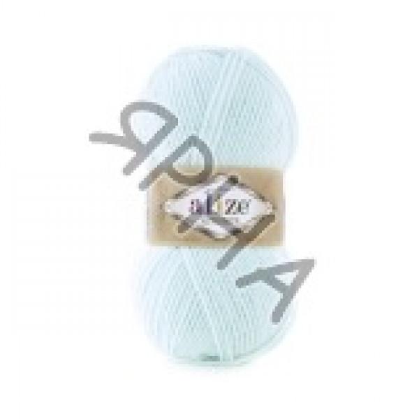 Пряжа в мотках Альпака роял Alize (Ализе) #    522 [голубой]