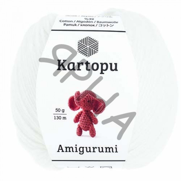 Yarn Amigurumi Картопу #    010 [снег]