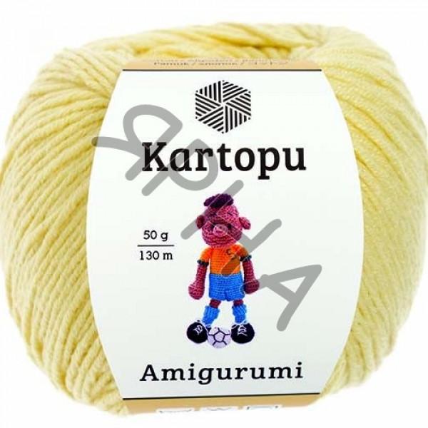 Yarn Amigurumi Картопу #    331 [желтый]