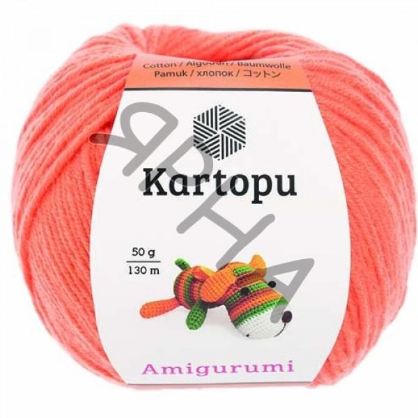 Yarn Amigurumi Картопу #   1250 [оранж]
