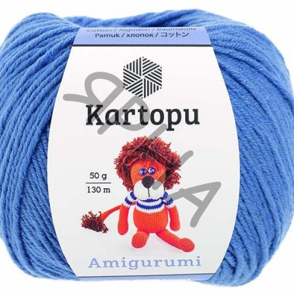 Yarn Amigurumi Картопу #   1620 [синий]