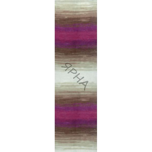 Yarn Angora gold batik Alize (Ализе) #   3930 [меланж]