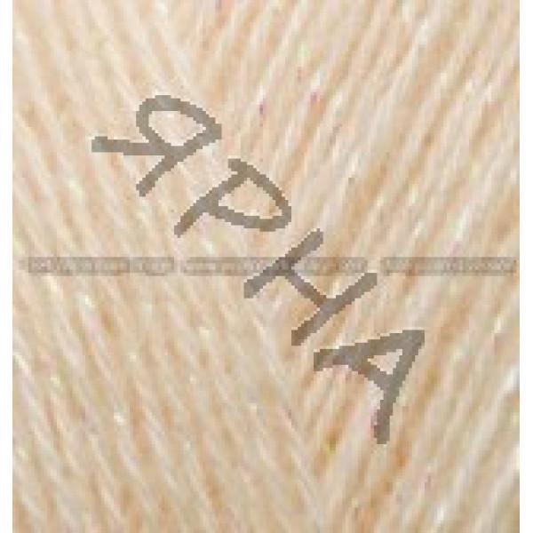Пряжа в мотках Ангора голд симли Alize (Ализе) #    160 [медовый]