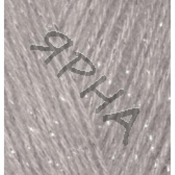 Yarn Angora gold simli Alize (Ализе) #    652 [св.серый]