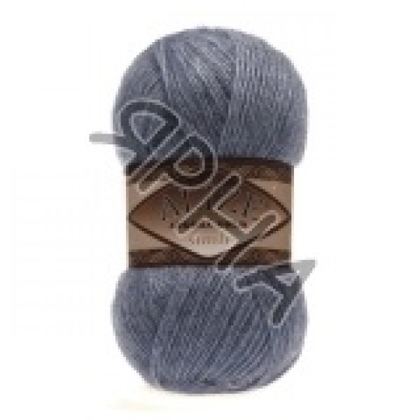 Пряжа в мотках Ангора голд симли Alize (Ализе) #    665 [голубой]