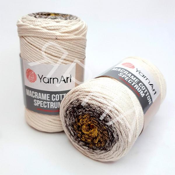 Макраме Коттон Спектрум 1301 YarnArt (РАМ)