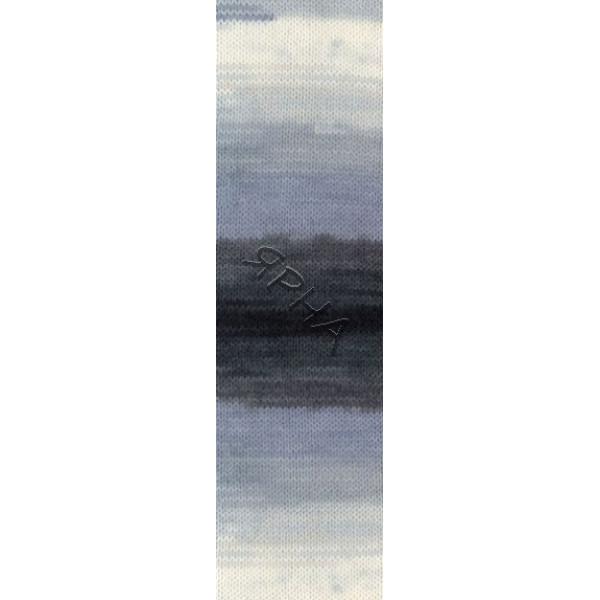Yarn Angora real 40 batik Alize (Ализе) #   1900 []