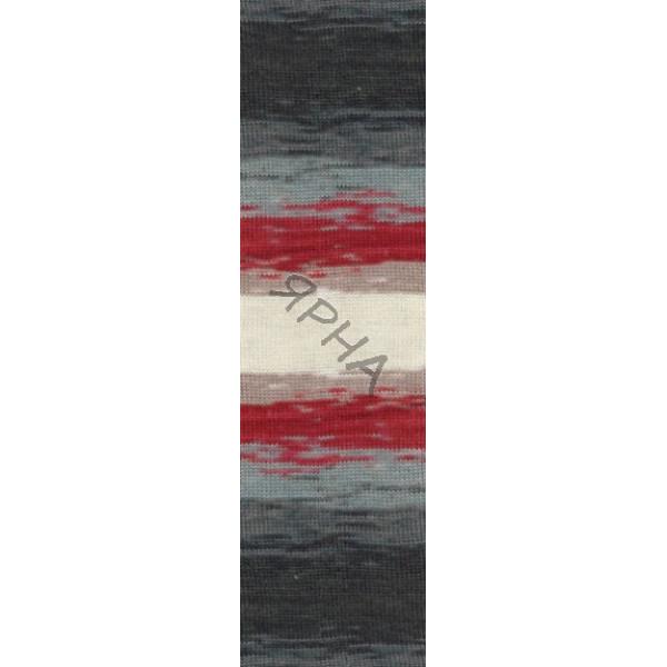 Yarn Angora real 40 batik Alize (Ализе) #   3376 []