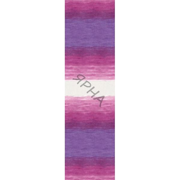 Yarn Angora real 40 batik Alize (Ализе) #   3950 []