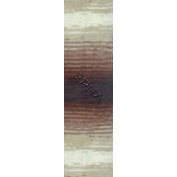Yarn Angora real 40 batik Alize (Ализе) #   3949 []