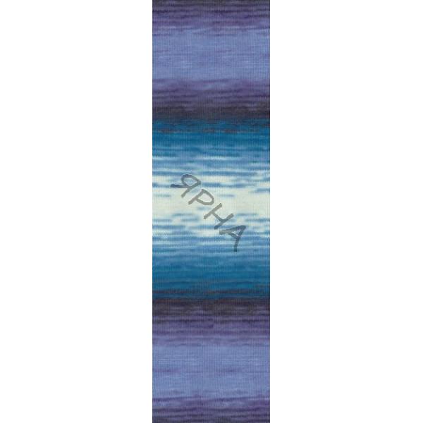 Yarn Angora real 40 batik Alize (Ализе) #   4003 []