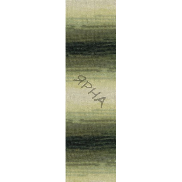 Yarn Angora real 40 batik Alize (Ализе) #   1593 []