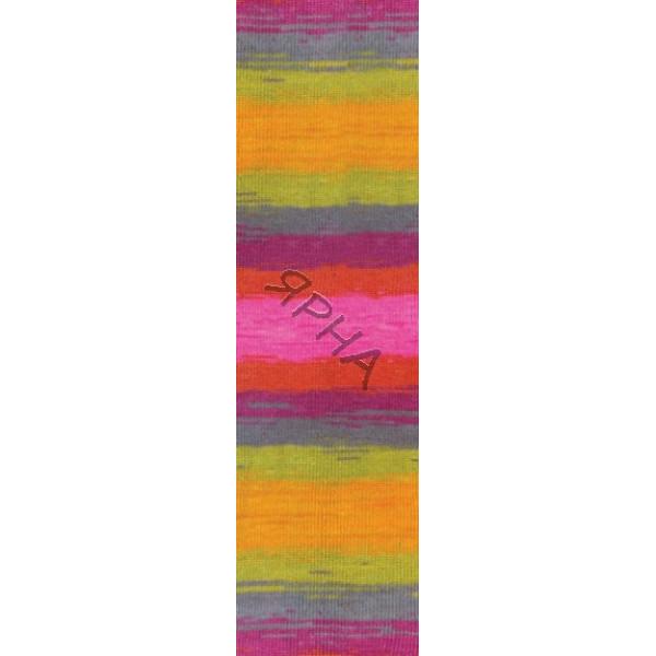Yarn Angora real 40 batik Alize (Ализе) #   4834 []