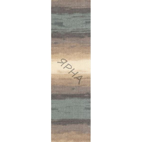 Yarn Angora real 40 batik Alize (Ализе) #   4726 []