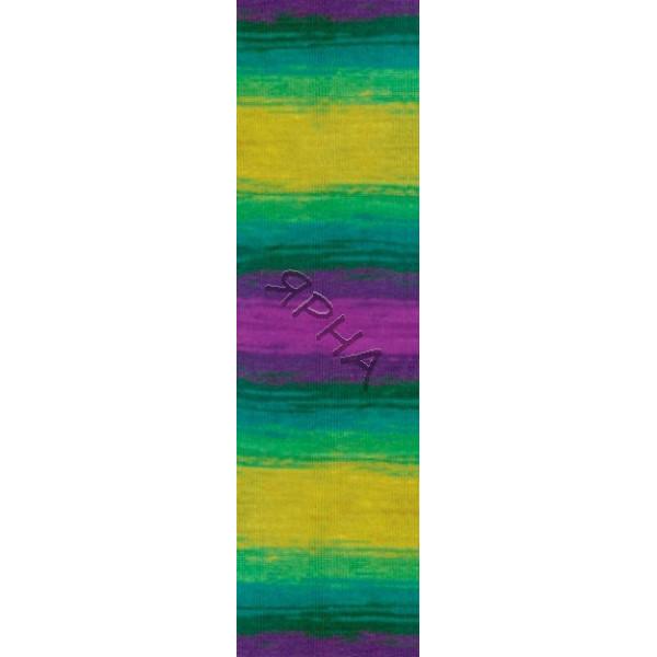 Yarn Angora real 40 batik Alize (Ализе) #   4880 []