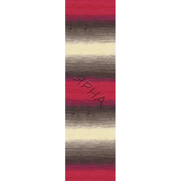 Yarn Angora real 40 batik Alize (Ализе) #   4574 []