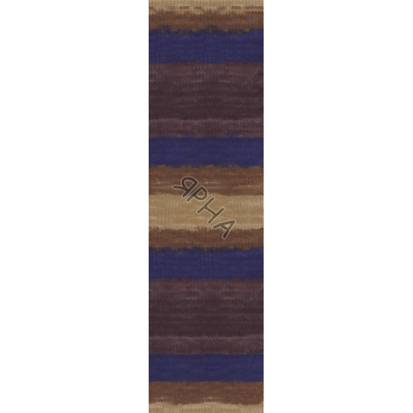Yarn Angora real 40 batik Alize (Ализе) #   6534 []