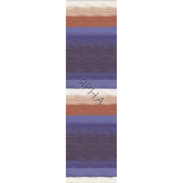 Yarn Angora real 40 batik Alize (Ализе) #   6561 []