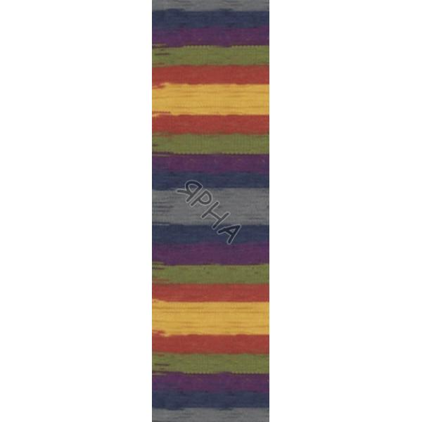 Yarn Angora real 40 batik Alize (Ализе) #   6536 []