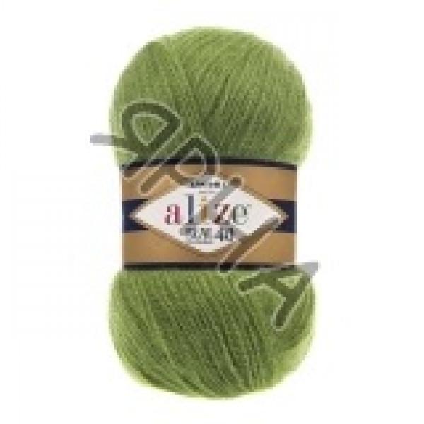 Yarn Ангора реал 40 Alize (Ализе) #    485 [зелень]