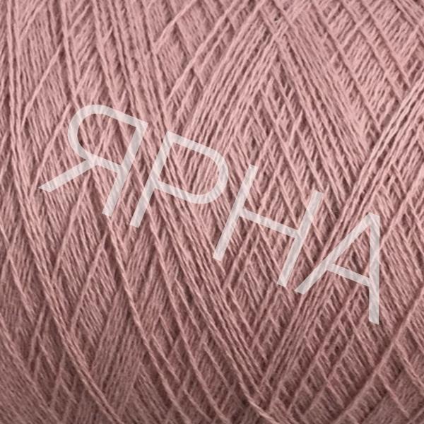 Кашемир конус 2/11 165 пыльная роза Лоро Пиана