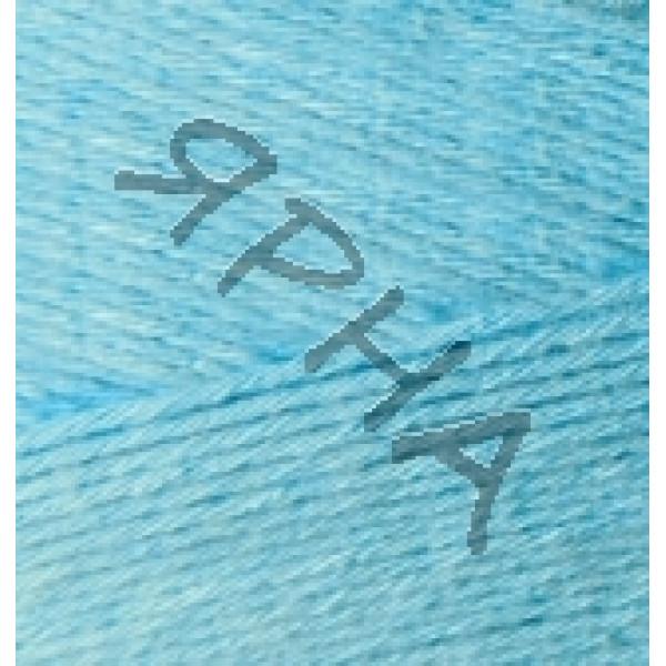 Yarn Bamboo fine Alize (Ализе) #    128 [голубой]