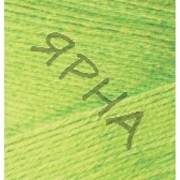 Yarn Bamboo fine Alize (Ализе) #    612 [желтый неон]