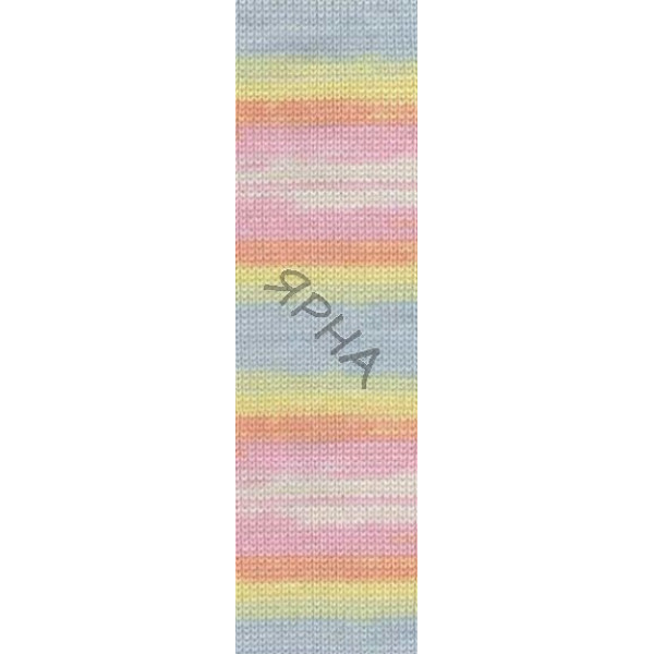 Yarn Baby wool batik Alize (Ализе) #   3563 []