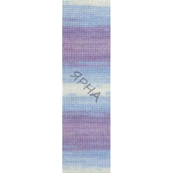 Yarn Baby wool batik Alize (Ализе) #   3566 []