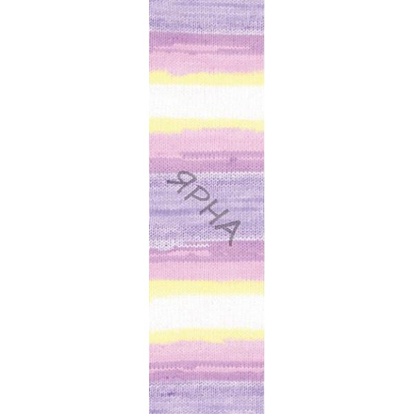 Yarn Baby wool batik Alize (Ализе) #   4006 []