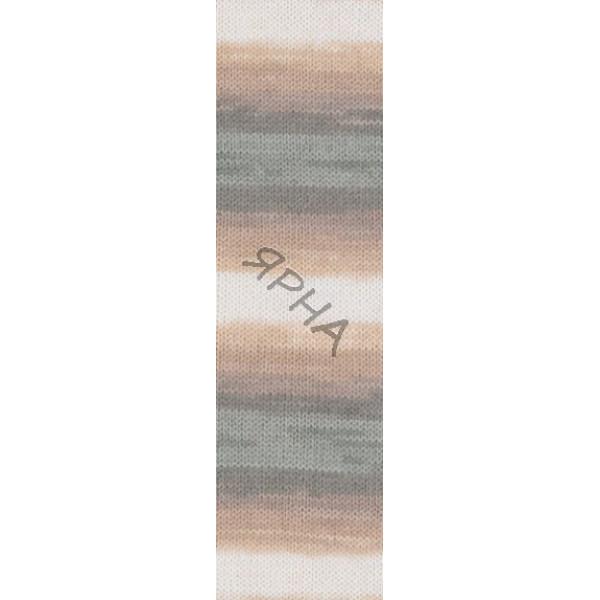 Yarn Baby wool batik Alize (Ализе) #   4726 []