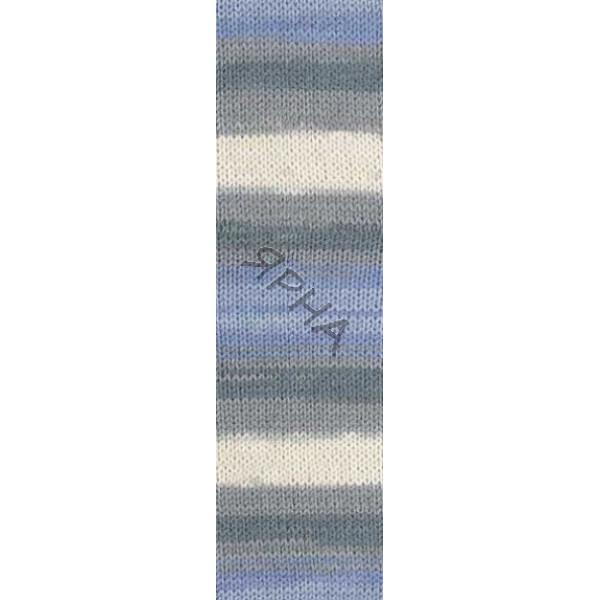 Yarn Baby wool batik Alize (Ализе) #   4692 []