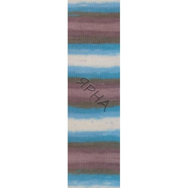 Yarn Baby wool batik Alize (Ализе) #   6320 []