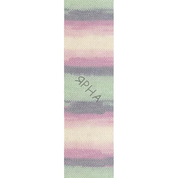 Yarn Baby wool batik Alize (Ализе) #   6541 []