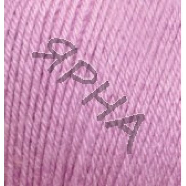 Пряжа в мотках Беби вулл Alize (Ализе) #    672 [св.лиловый]