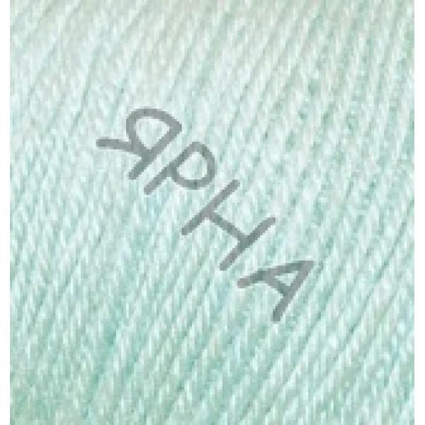 Пряжа в мотках Беби вулл Alize (Ализе) #    522 [мятный]