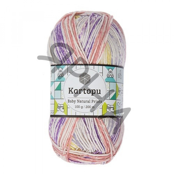 Yarn Baby natural prints Картопу #   1800 []