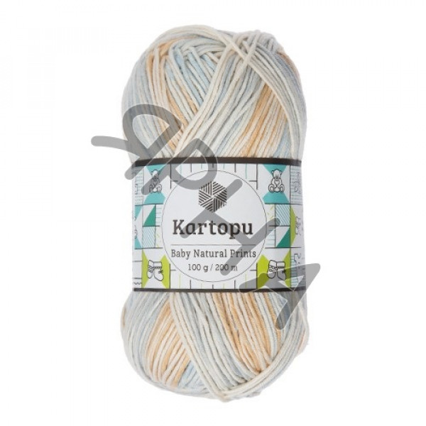 Yarn Baby natural prints Картопу #   1799 []