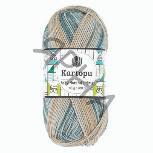 Yarn Baby natural prints Картопу #   1798 []