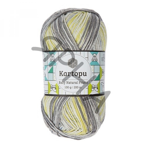 Yarn Baby natural prints Картопу #   1801 []