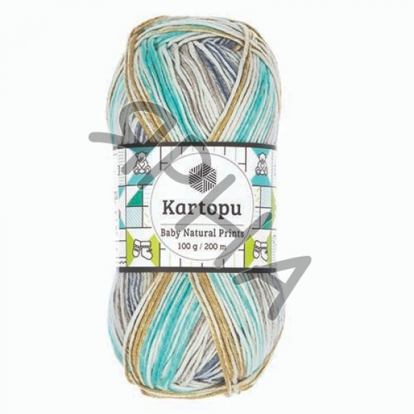 Yarn Baby natural prints Картопу #   1805 []