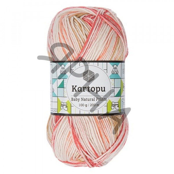 Yarn Baby natural prints Картопу #   1806 []