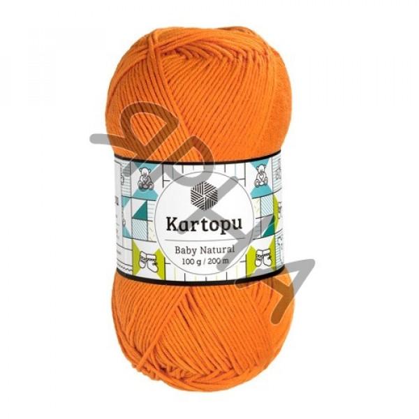 Yarn Baby natural Картопу #    256 [оранж]