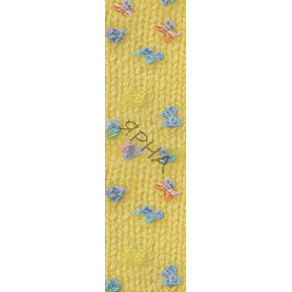 Yarn Baby flower Alize (Ализе) #   5385 [желтый]