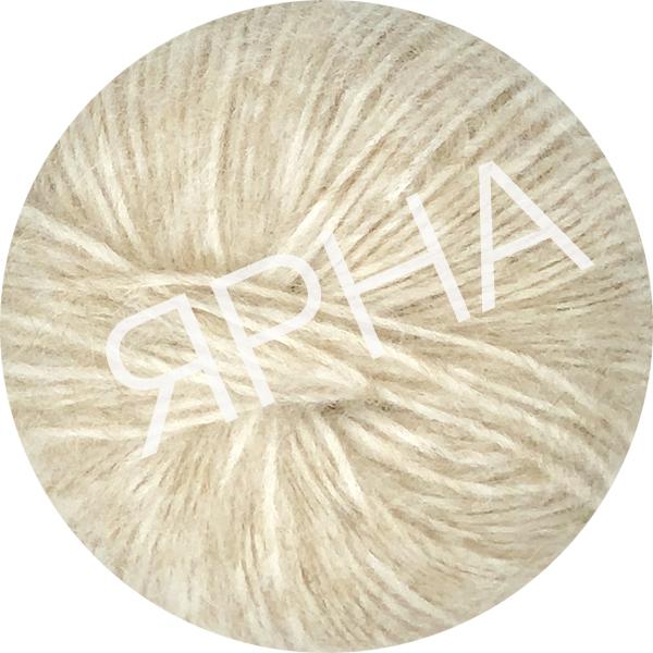 Yarn Alpaca real Ярна #   3400 [беж натуральный]