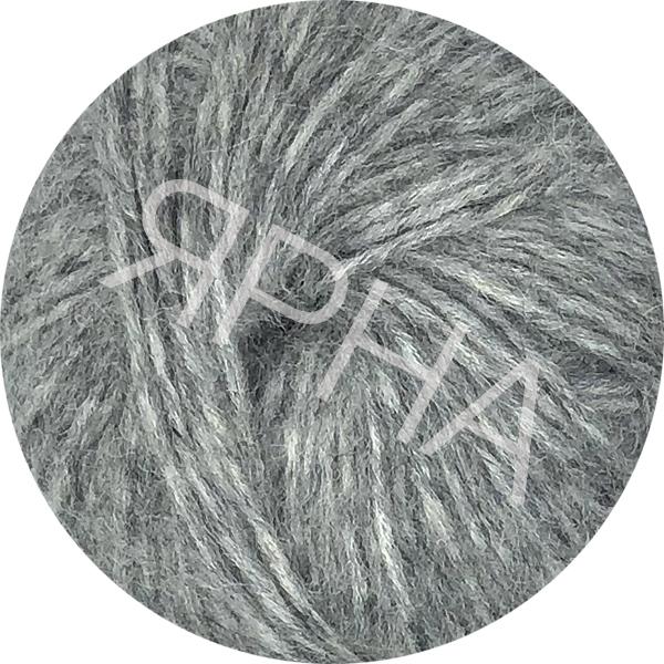 Yarn Alpaca real Ярна #   4401 [ср.серый натуральй]