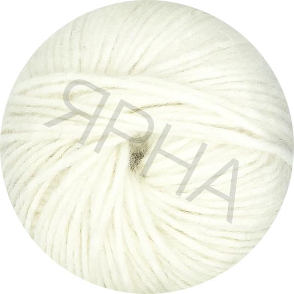 Yarn Alpaca real Ярна #    100 [белый]