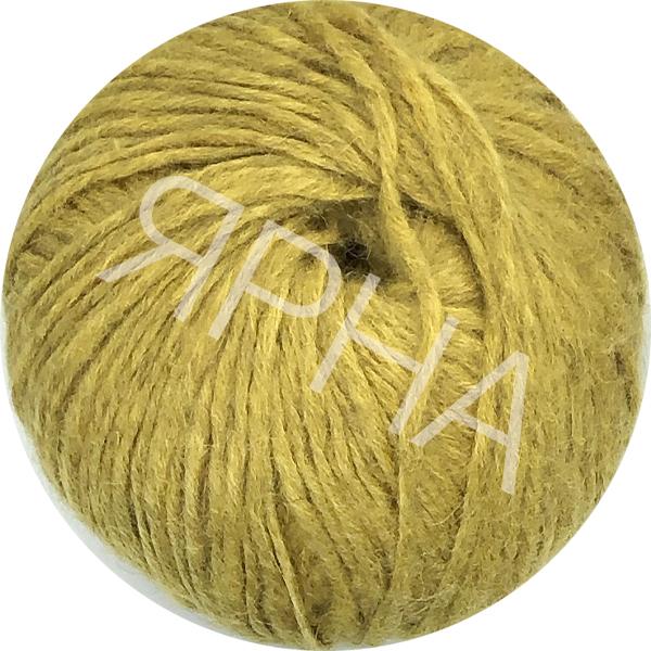 Yarn Alpaca real Ярна #   1552 [горчица]