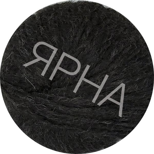 Yarn Alpaca real Ярна #   3405 [коричневый седой]