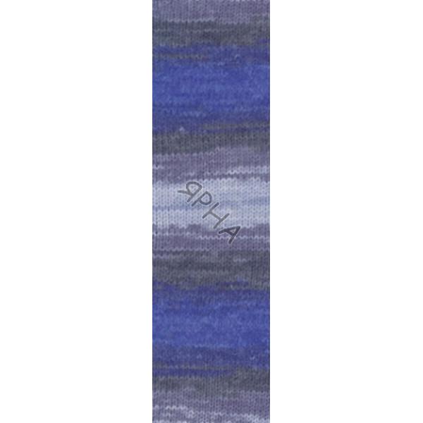 Yarn Burcum batik Alize (Ализе) #   4761 [меланж-батик]
